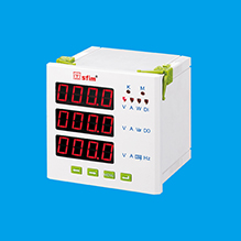 LED Three-Phase Multifunctional Power Instrument
