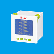 LCD Three-Phase Multifunctional Power Instrument